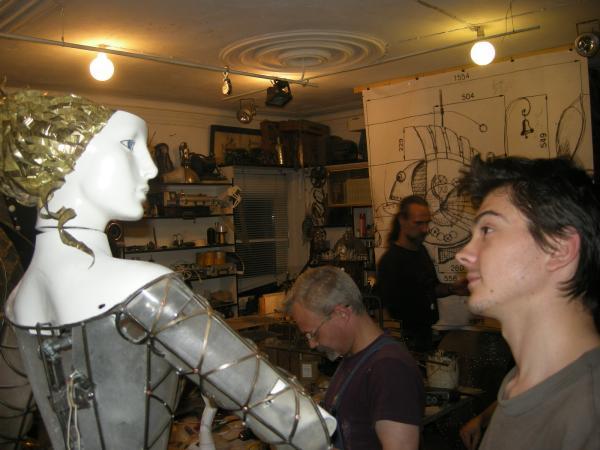 КОЛОМБИНА (арт-механика , история одного проекта) (Фото 16)