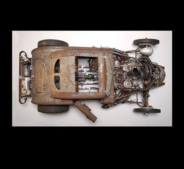 Michael Ulman - арт на колесах. (Дизельпанк) (Фото 4)
