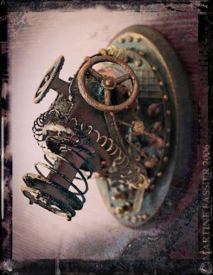 Кастрюли на колёсах и головы трофейных механоидов. (Фото 15)