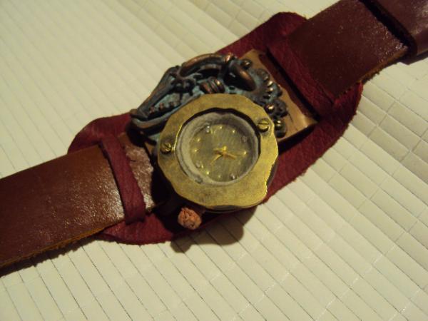 Стим-панк, часы для дам (Фото 2)