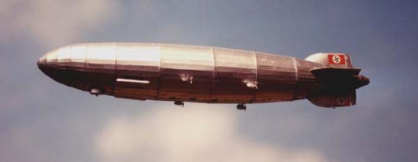 """Бумажная модель дирижабля """"Hindenburg"""" (масштаб 200:1)"""