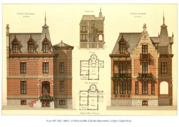 Details of Victorian Architecture. Викторианская архитектура в проектах. (Фото 10)
