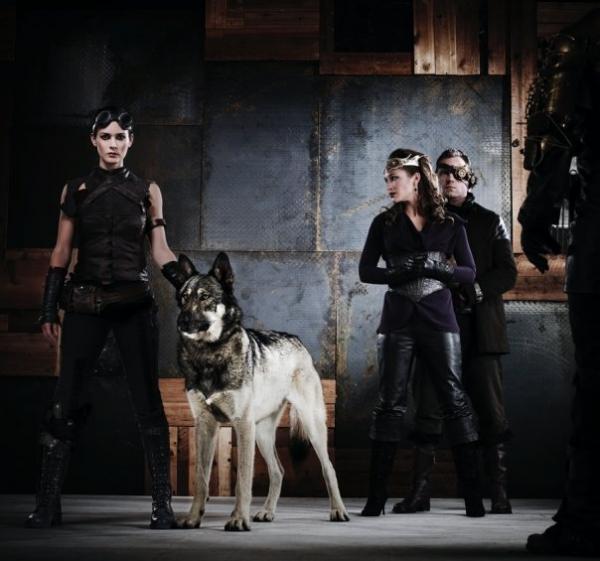 Главная героиня - Riese, её волк - Фенир, королева Амара, Треннан - человек секты и, видимо, Херрик - магистр секты