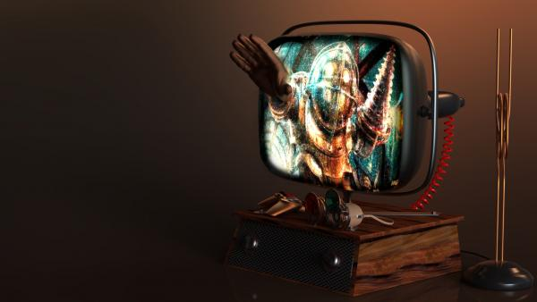 Работа на конкурс Steampunk-Vision 3D в Студию, автор Николай Кулик