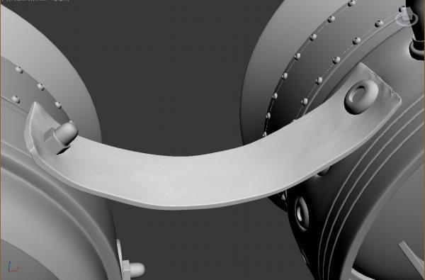 Конкурс Steampunk-Vision 3D. Гогглы в 3d. Переключение на текстуринг. (Фото 6)