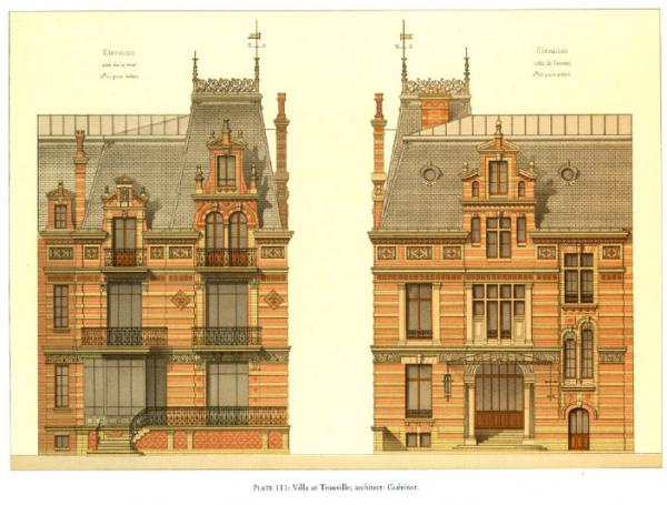 Details of Victorian Architecture. Викторианская архитектура в проектах. (Фото 11)