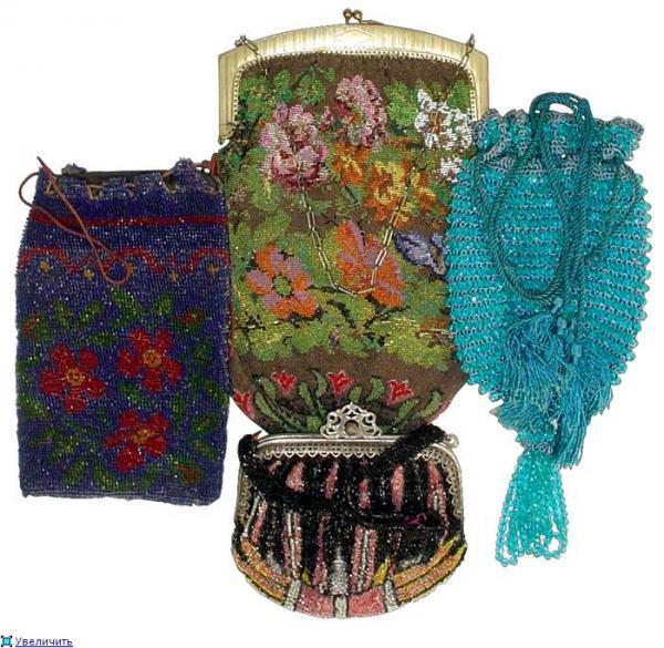 Дамские сумочки в Викторианскую эпоху (Фото 2)