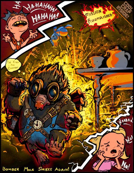 Стимпанк фурри и другие звери (Фото 13)