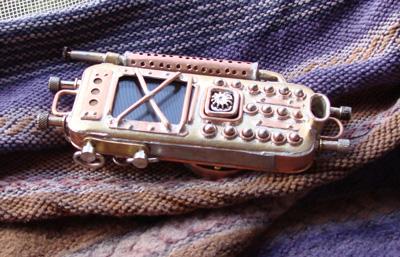 стимпанк телефон из Питера