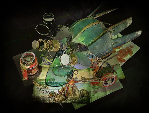 Работа на конкурс Steampunk-Vision 3D в Студию, автор Ssv