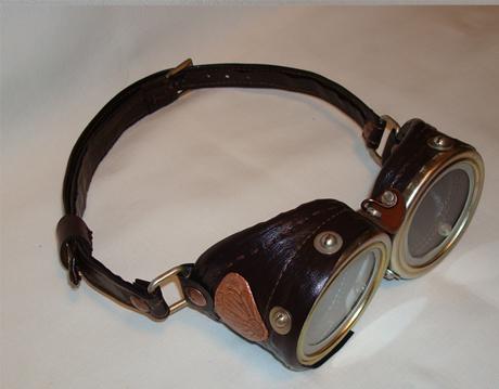 Эксклюзивно для Steampunker: Аукцион - лот Очки (Steampunk Goggles) от Perpetuum Mobile. (Фото 2)