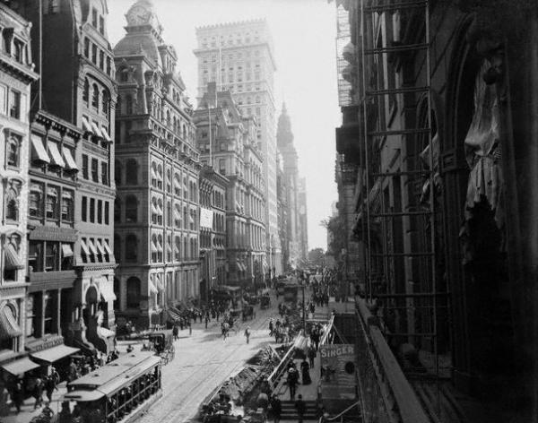 фото Нью-Йорка начала 20го века (Фото 29)