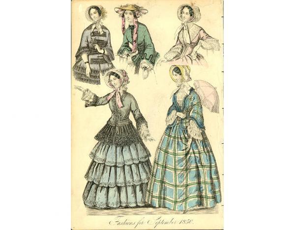 Переменчивая мода Викторианской эпохи (Фото 10)