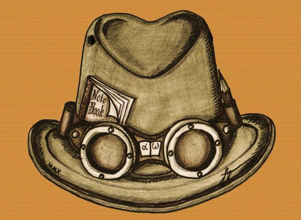 Шляпа охотника за сенсациями