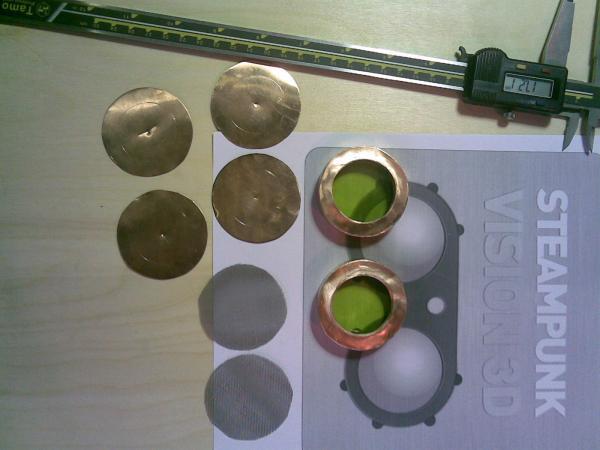 Классическая модель гугглов. Назовём её Марс. (Фото 5)