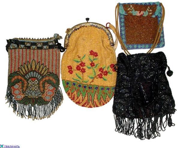 Дамские сумочки в Викторианскую эпоху (Фото 23)