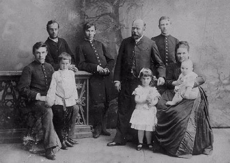 Семья Клепининых. г. Курган.1890-ые годы