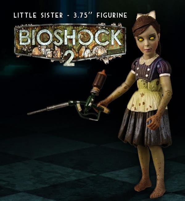Фигурка Маленькой сестренки из игры Bioshock 2