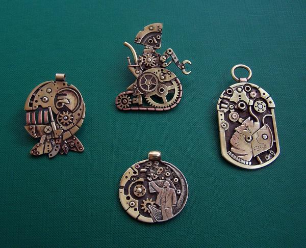 Clockwork Hand и другие замечательные работы Mikko Anttonen (Фото 2)