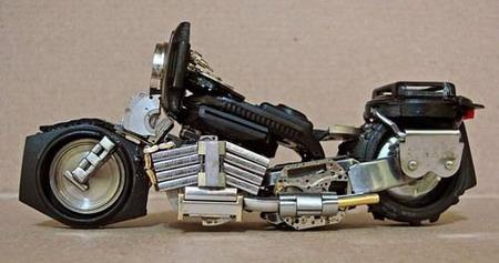 Мотоциклы из часовых механизмов (Фото 9)