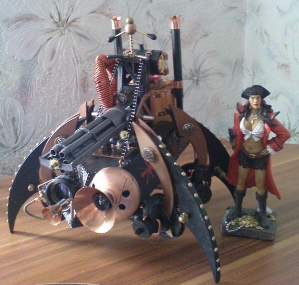 Имперский автономный ударно-разведывательный паровой дрон (Фото 9)