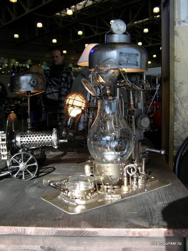 """Стимпанк стенд на """"Олдтаймер-галерее"""" 7-10 октября 2010 (Фото 4)"""