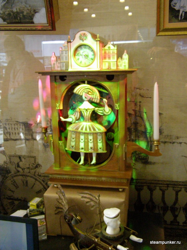 """Стимпанк стенд на """"Олдтаймер-галерее"""" 7-10 октября 2010 (Фото 5)"""
