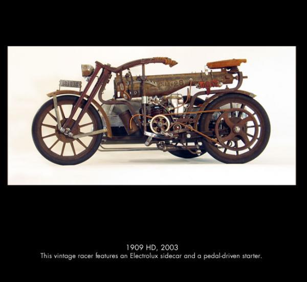 Michael Ulman - арт на колесах. (Дизельпанк) (Фото 9)
