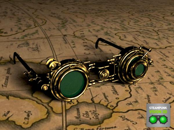Работа на конкурс Steampunk-Vision 3D в Студию, автор Сергей