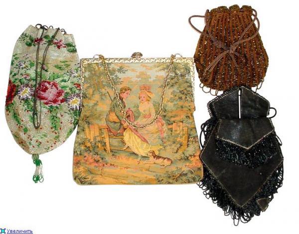 Дамские сумочки в Викторианскую эпоху (Фото 29)