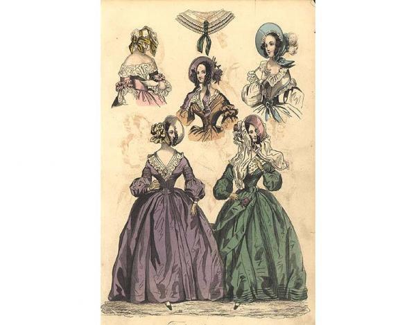 Викторианская эпоха платья фото