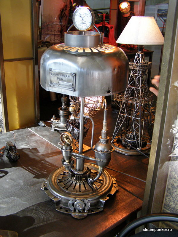 """Стимпанк стенд на """"Олдтаймер-галерее"""" 7-10 октября 2010 (Фото 3)"""