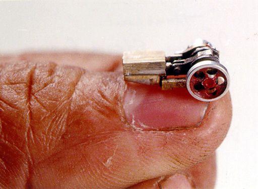Самая маленькая паровая машина
