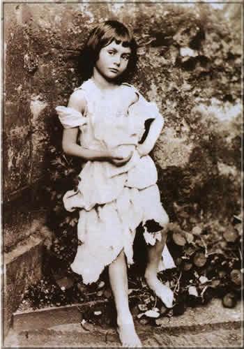 Алиса Лиддел, фото Льюиса Кэррола