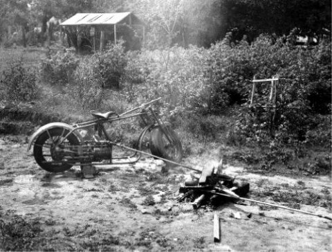 Стимпанк Байкер 1947 (Фото 4)