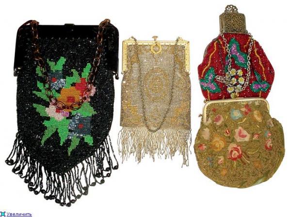 Дамские сумочки в Викторианскую эпоху (Фото 28)