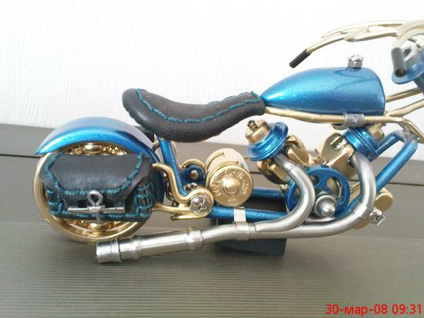 мотоцикл для робота (Фото 7)