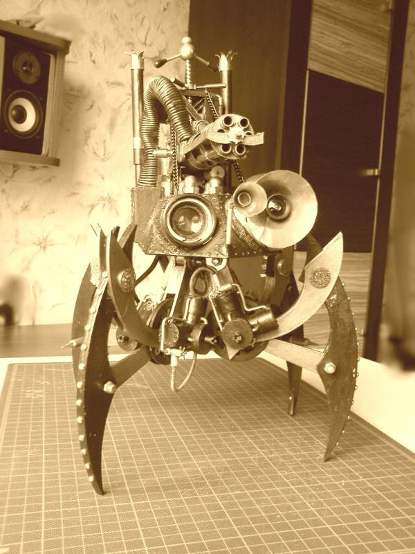 Имперский автономный ударно-разведывательный паровой дрон (Фото 23)