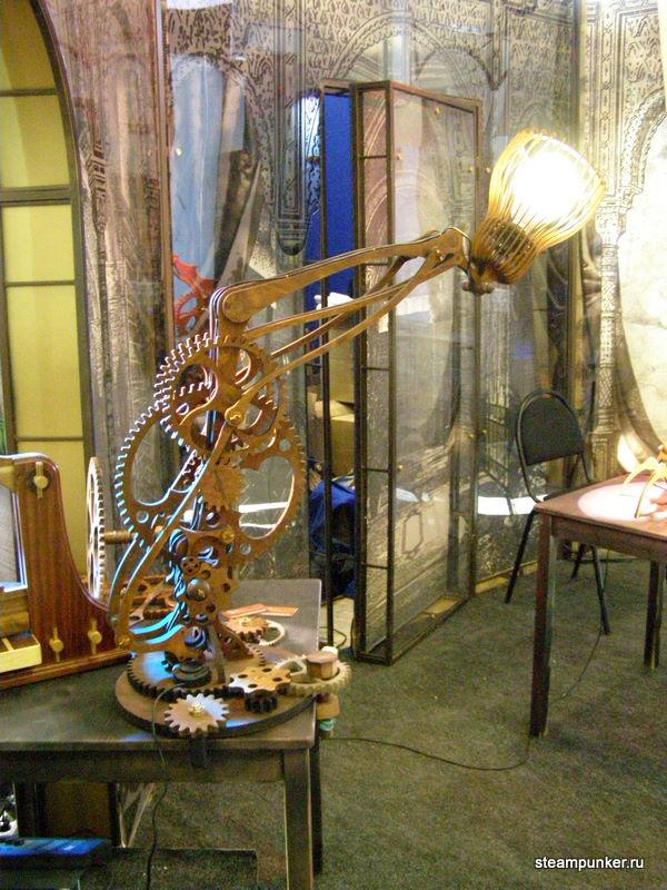 """Стимпанк стенд на """"Олдтаймер-галерее"""" 7-10 октября 2010 (Фото 8)"""
