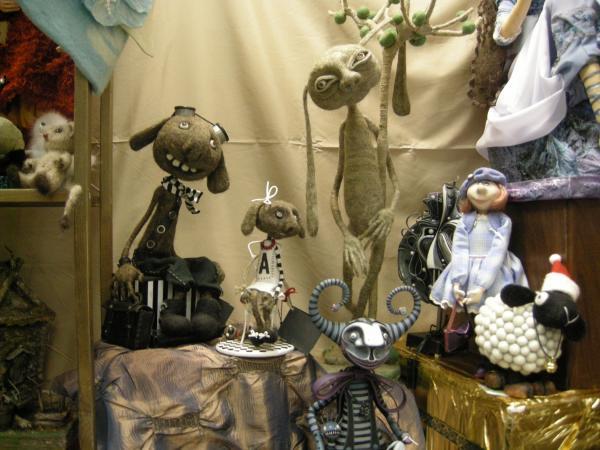 Выставка Авторской Куклы в залах Союза Художников (Петербург) (Фото 11)