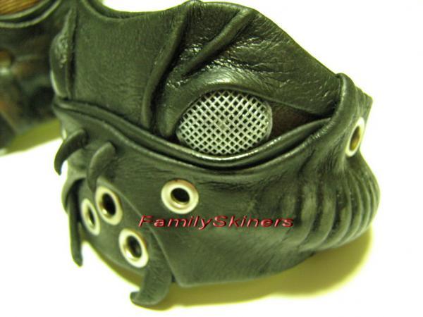 Кожаные браслеты в Steampunk и Cyberpunk стилях. (Фото 3)