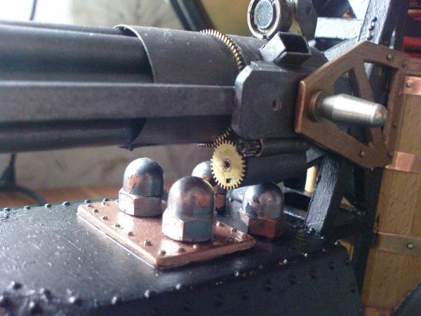 Имперский автономный ударно-разведывательный паровой дрон (Фото 14)