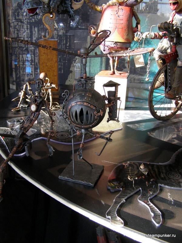 """Стимпанк стенд на """"Олдтаймер-галерее"""" 7-10 октября 2010 (Фото 24)"""
