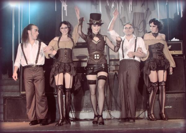 """Немного фото с показа новой коллекции """" Steampunk Cabaret"""""""
