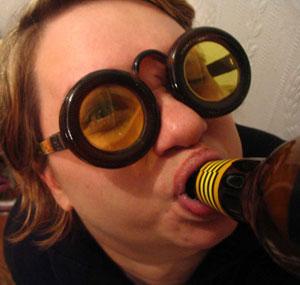 Гогглы из ... пивных бутылок!:) (Фото 6)