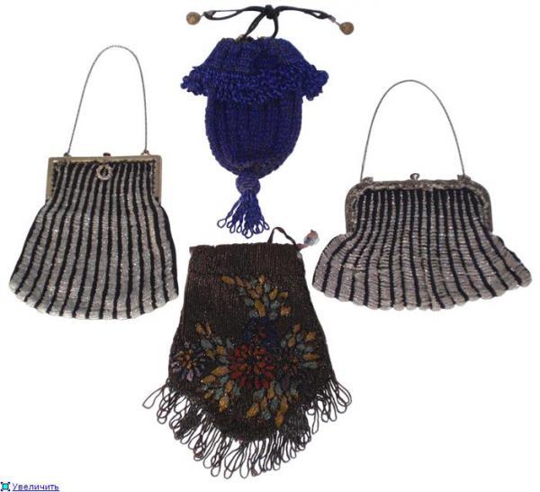 Дамские сумочки в Викторианскую эпоху (Фото 13)