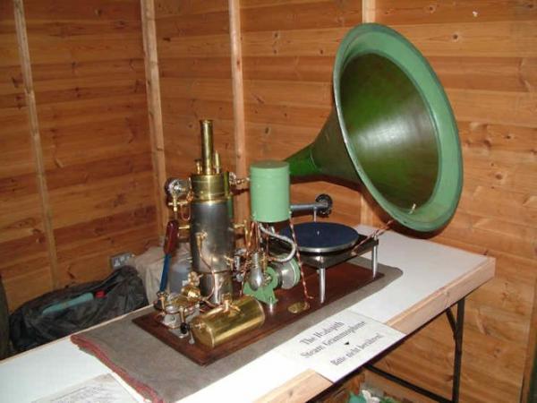 Паровой граммофон (Фото 2)