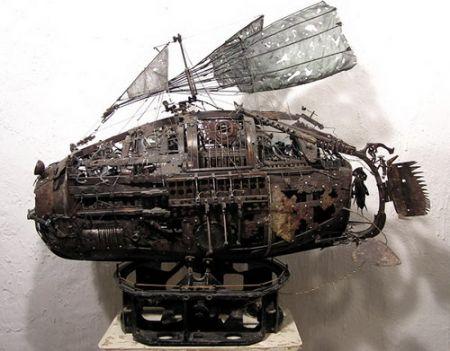Cкульптура Андрея Северинко (Фото 5)