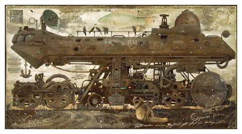 Живопись, лубок, и железнодорожные мутанты... (Фото 7)