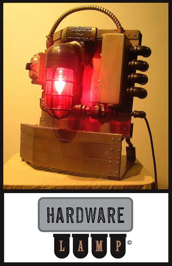 Эстетика  Fallout или тяжелая индустрия  лампостроения. (Фото 8)